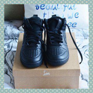 NWOT Nike Court Borough Mid in Black